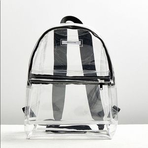 NWT urban outfitters clear backpack